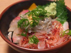 生しらすと桜えびの海鮮丼