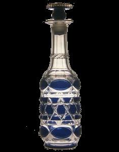 藍色被栓付瓶 サントリー美術館蔵