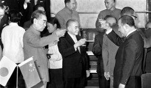 日中国交正常化記念晩餐会
