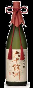 六十餘洲 純米大吟醸 1800ml瓶×2本[長崎県:今里酒造]