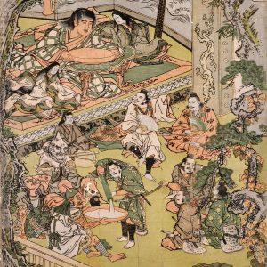 大江山酒宴の席